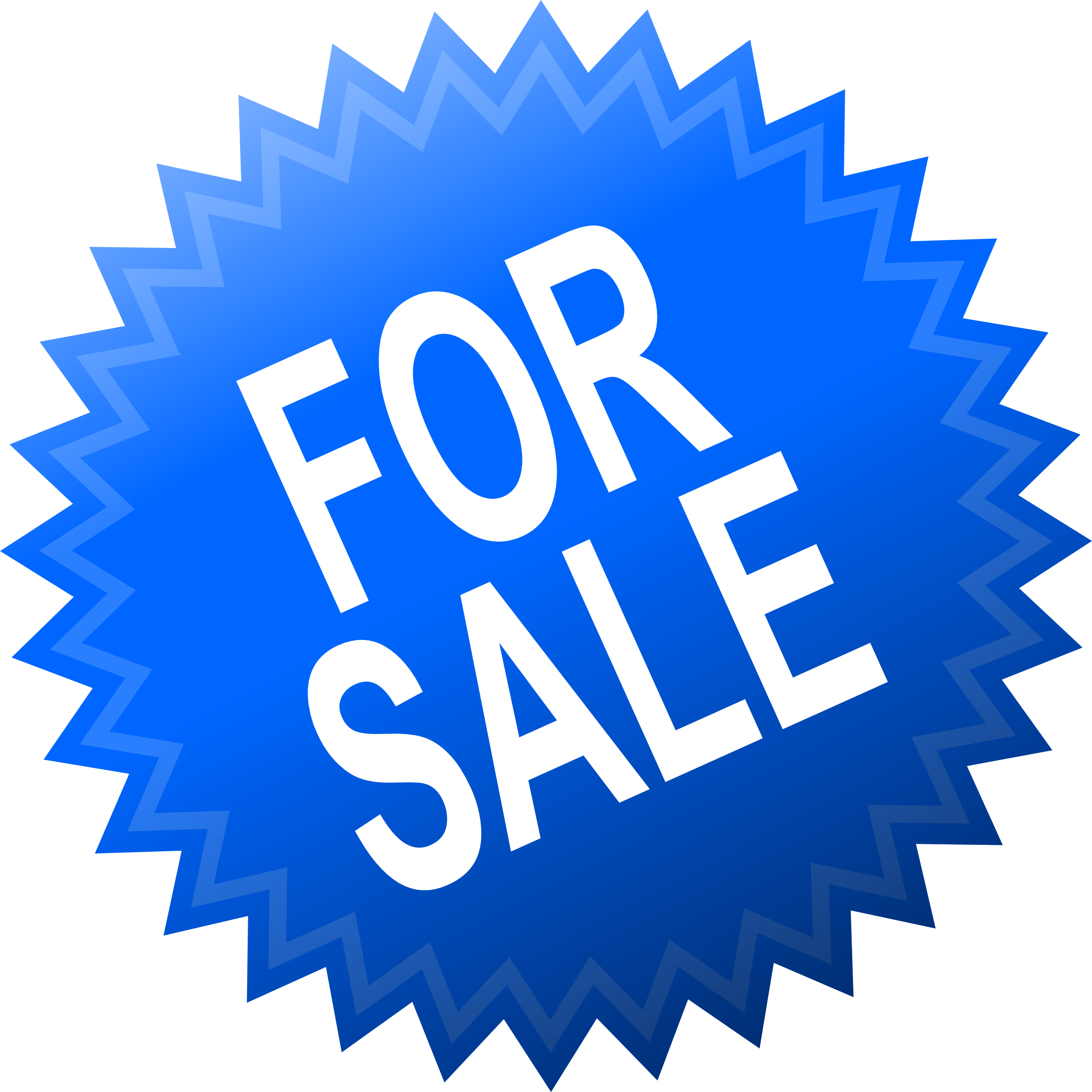 Sticker transparent. Shopping special offer stickers