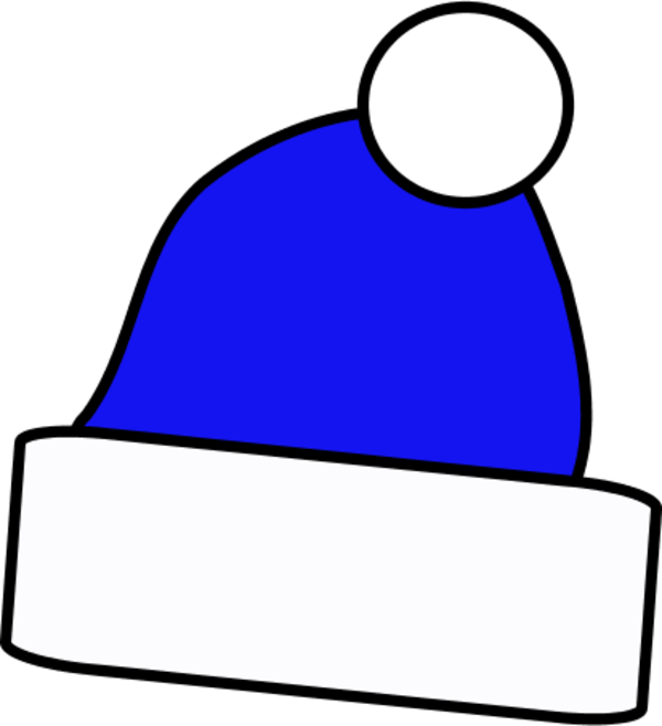 Blue santa hat png. Collection of clipart