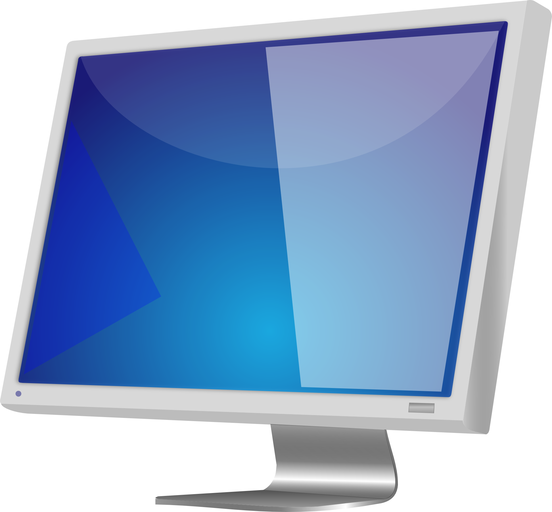 Blue screen monitor png. Computer free image