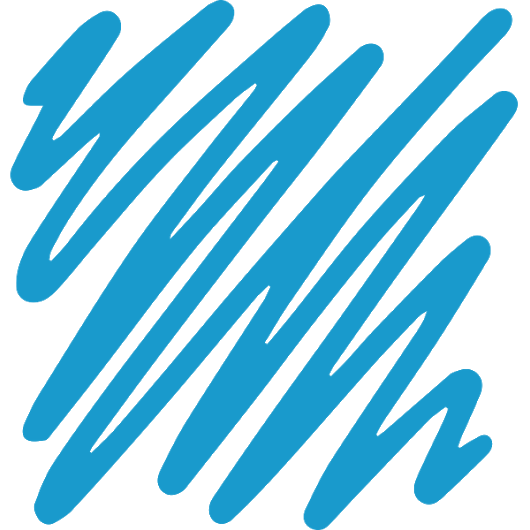blue scribble png