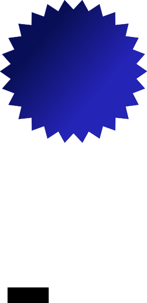 Blue seal png. Clip art at clker