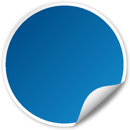 Blue seal png. Circle svg vector public
