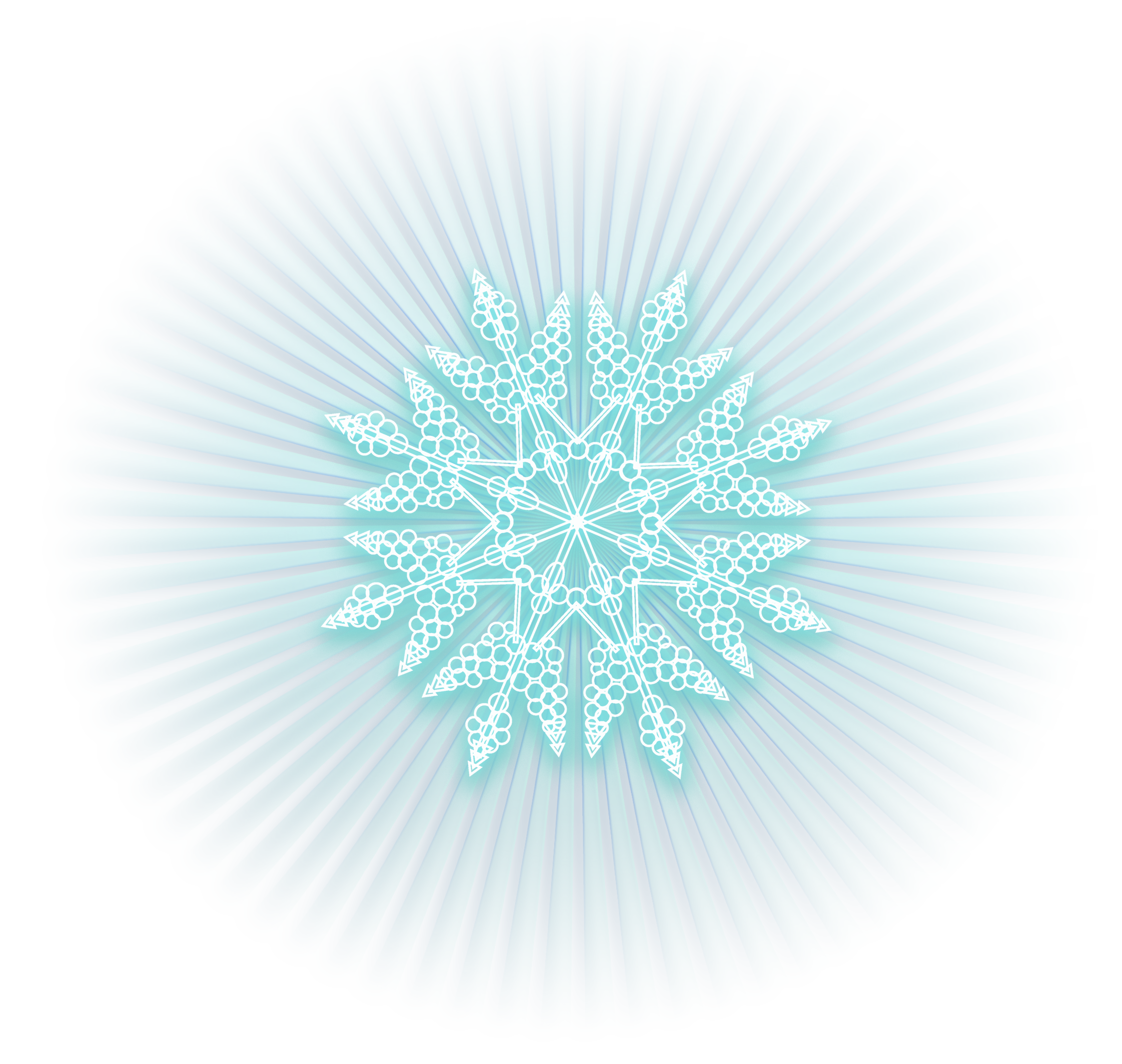 Ice effect png. Blue shining snowflake clipart