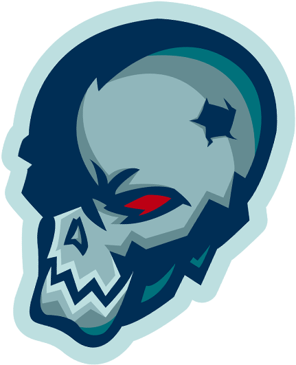 Blue skull png. Download gaming bsg tom