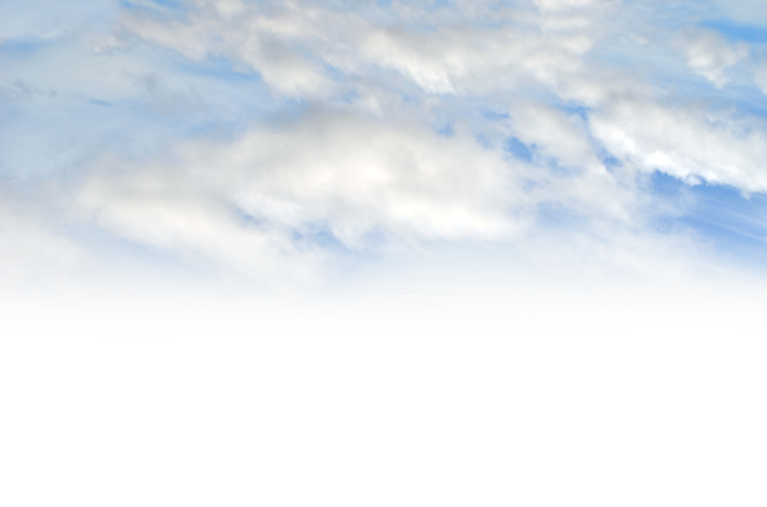 Blue sky png. Into the clouds stock