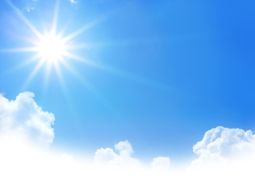 Blue sky png. With sun clipart images