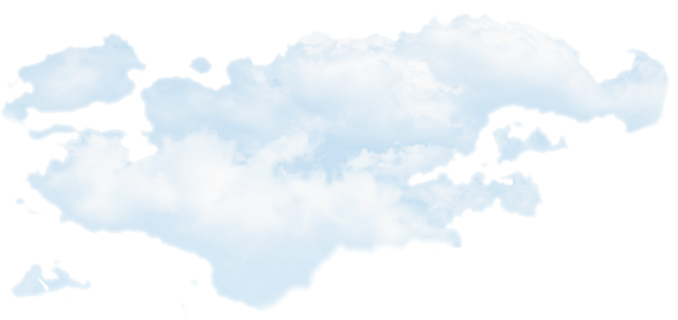 Blue sky with clouds png. White transparent images pluspng