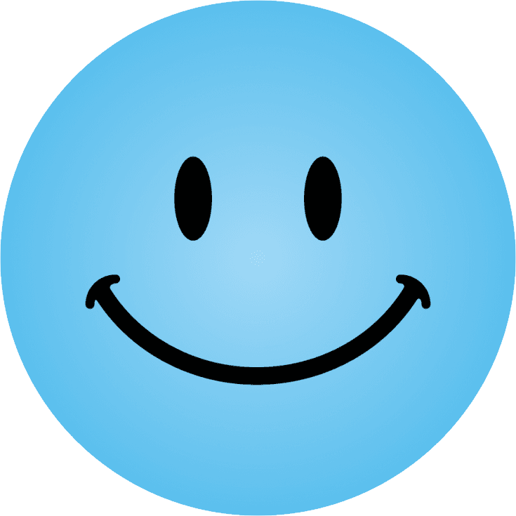 Blue smiley face png. Images free download