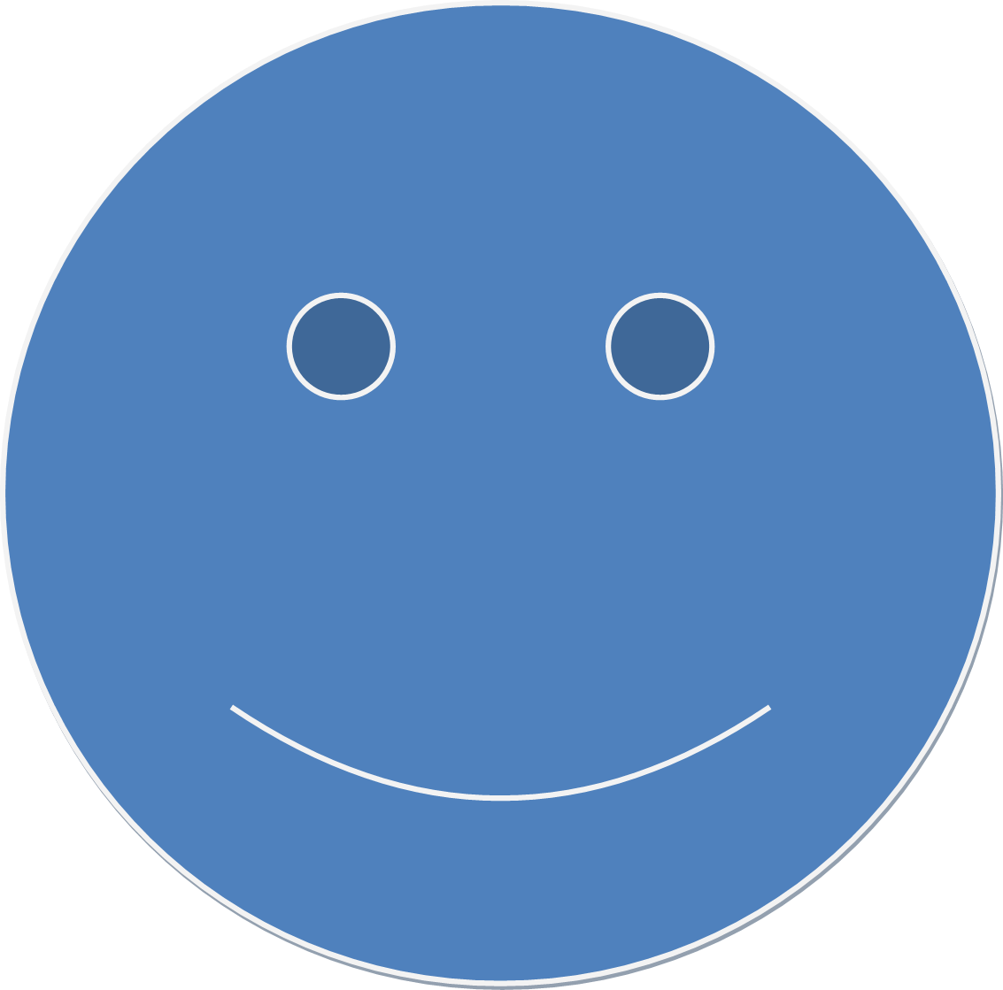 Blue smiley face png. File wikimedia commons fileblue