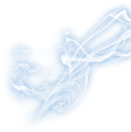 Blue smoke effect png. Electric transparent stickpng
