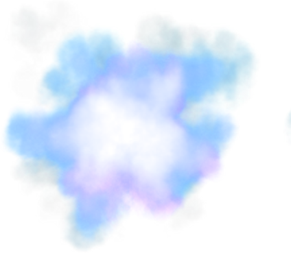Blue smoke effect png. X free icons and