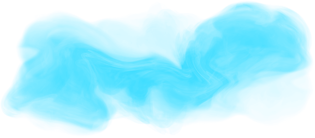 Blue smoke .png. Turquoise png image transparent