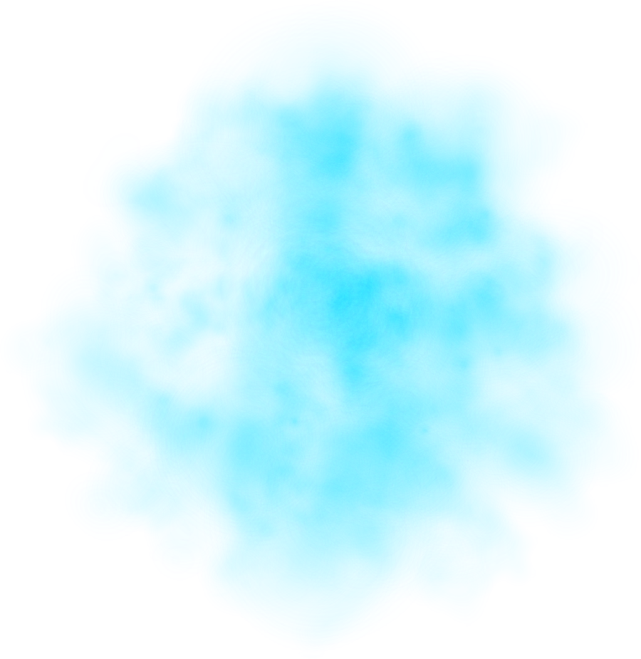 Teal smoke png. Blue transparent transparentpng