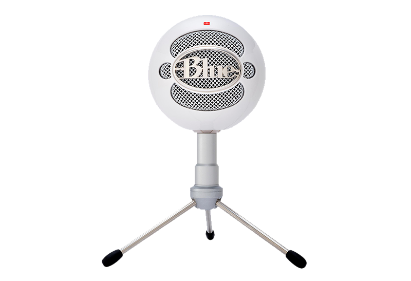 Snowball microphone png. June product white