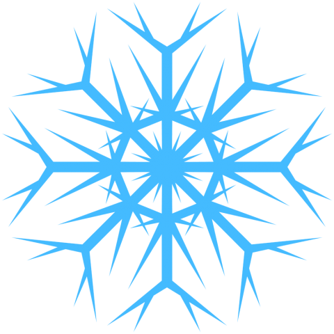 Blue snowflakes png. Free images toppng transparent
