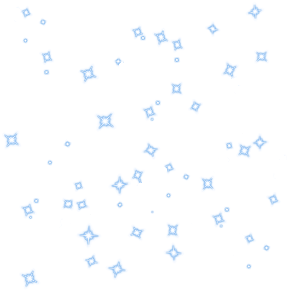 Sparkles png. Blue diamonds stars  black and white download