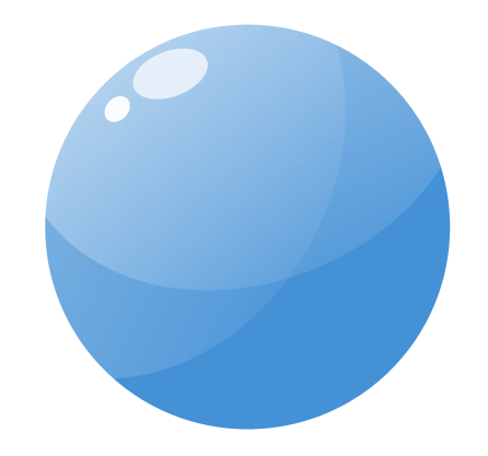 light blue circle png