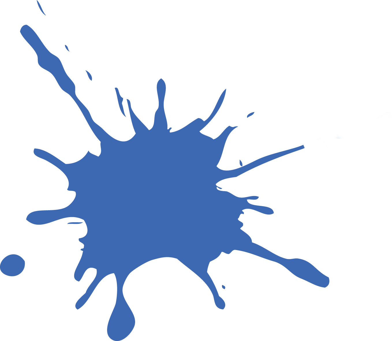 Paint splater png. Blue splat free icons