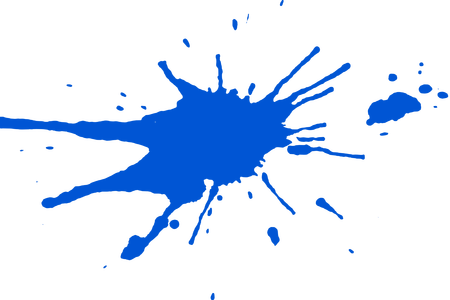 Blue splatter png. Paint