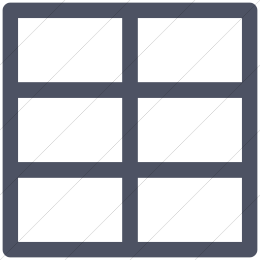 Blue square outline png. Iconsetc simple gray layouts