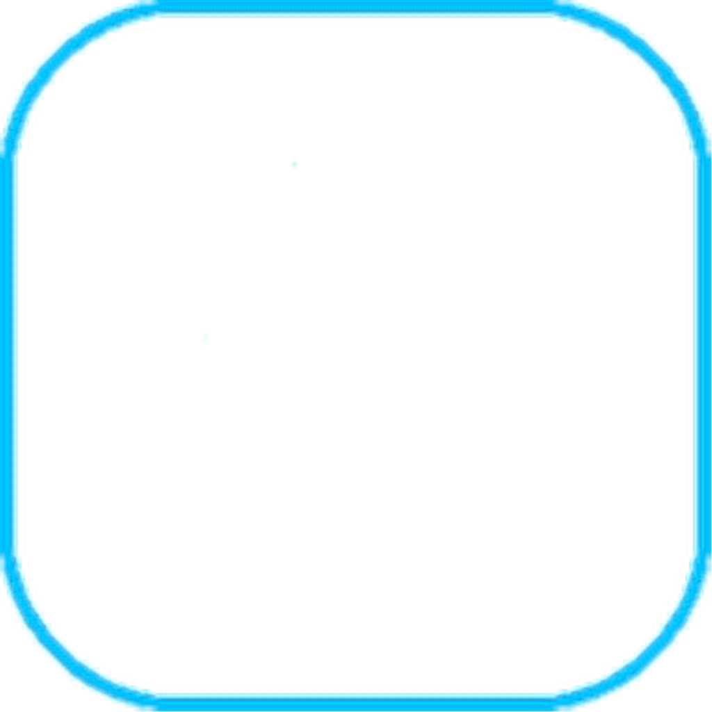 Blue square outline png. Sticker by taracs