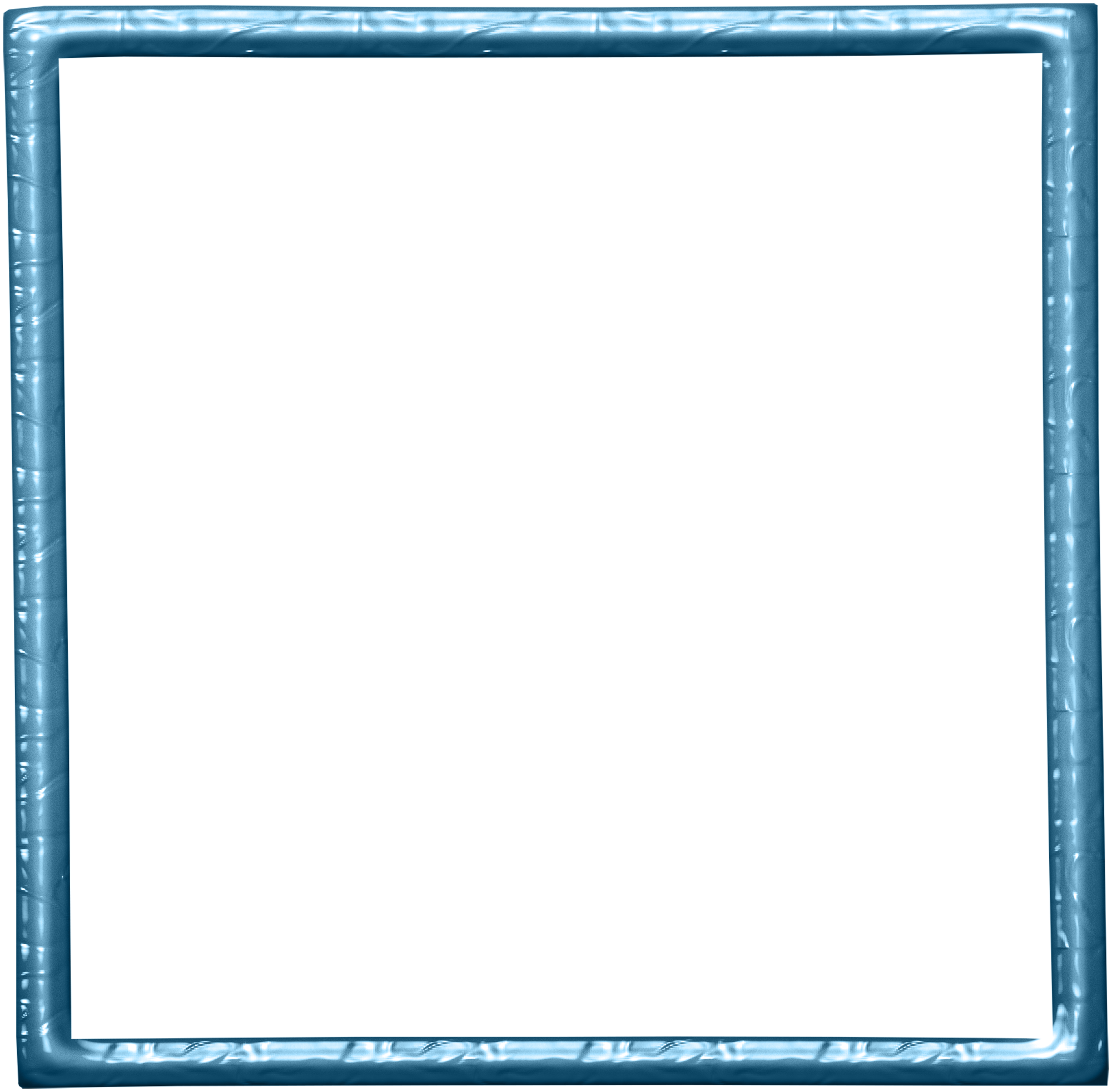 White square frame png. Blue pull away transprent