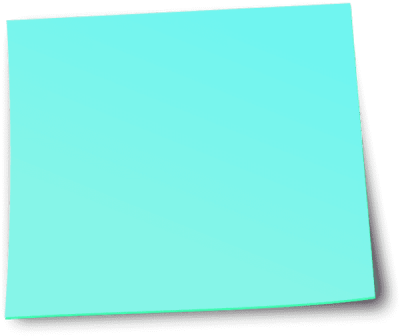 Blue sticky note png. Notes dlpng