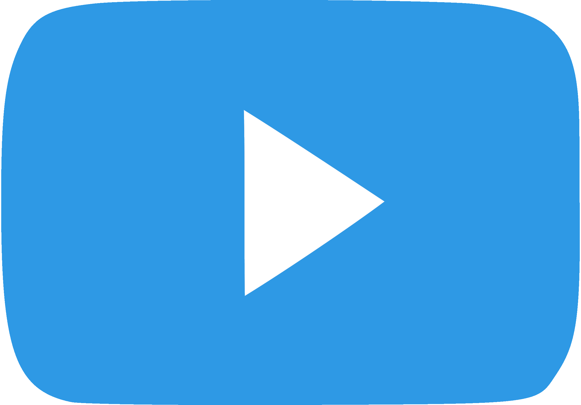 Blue subscribe button png. Youtube play file mart