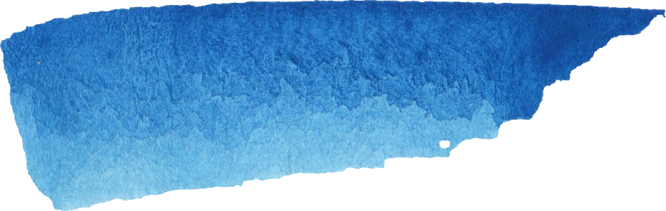 Water color texture png. Blue watercolor brush