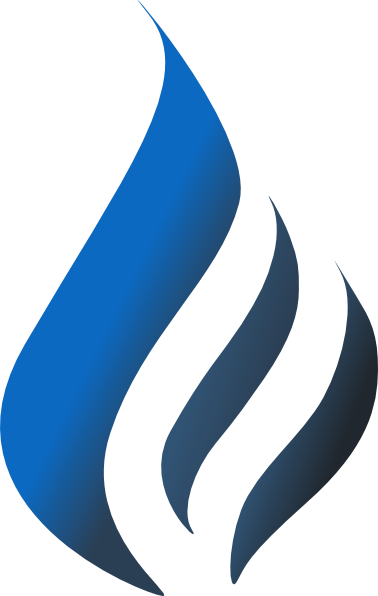 Blue torch flame png. Simpleblueblack clip art at
