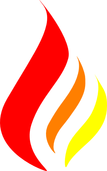 Blue torch flame png. Red orange yellow clip