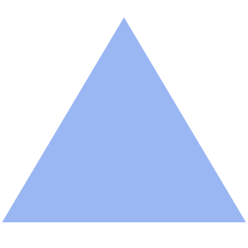 Blue triangle png. Transparent pictures free icons
