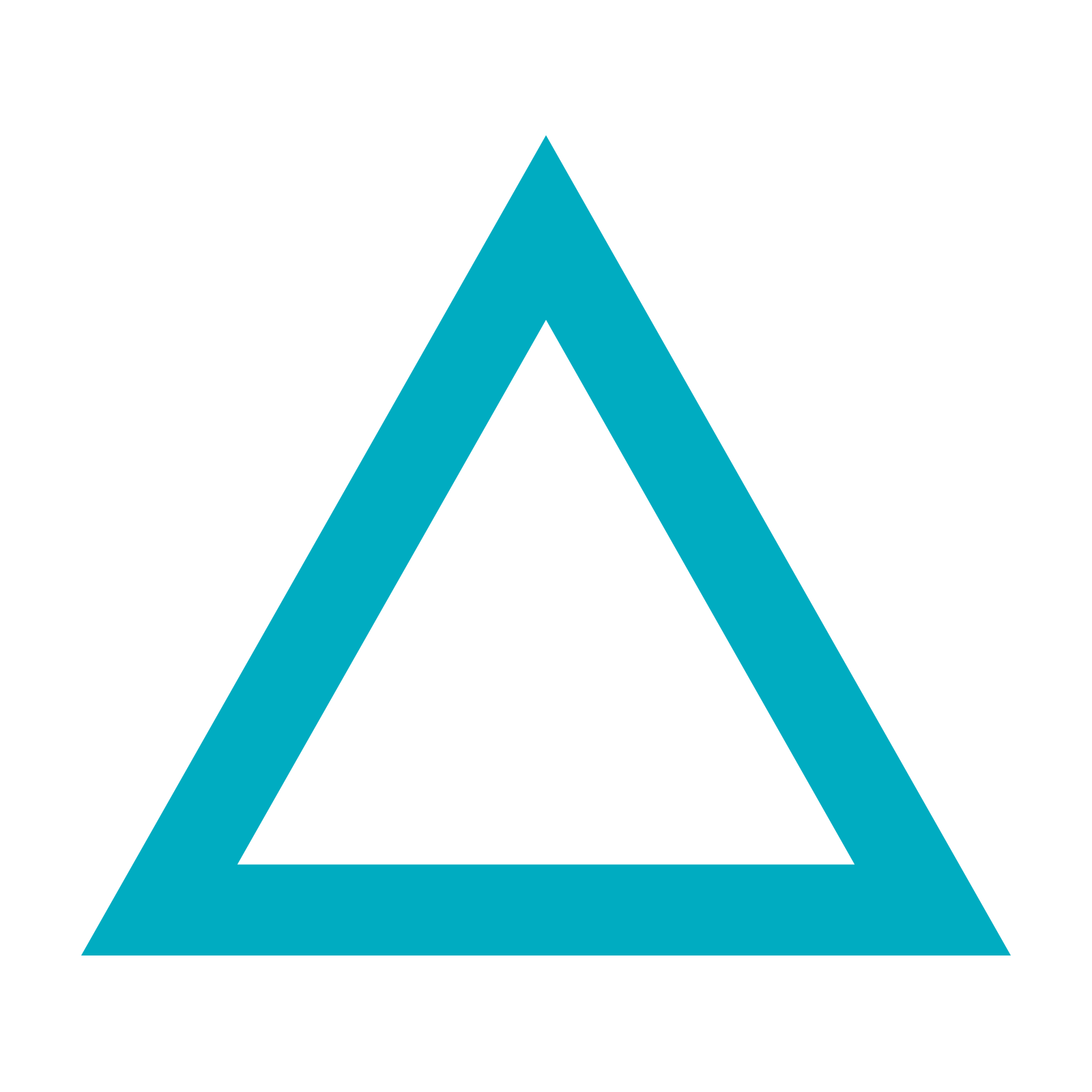 Blue triangle png. Transparent images pluspng icon