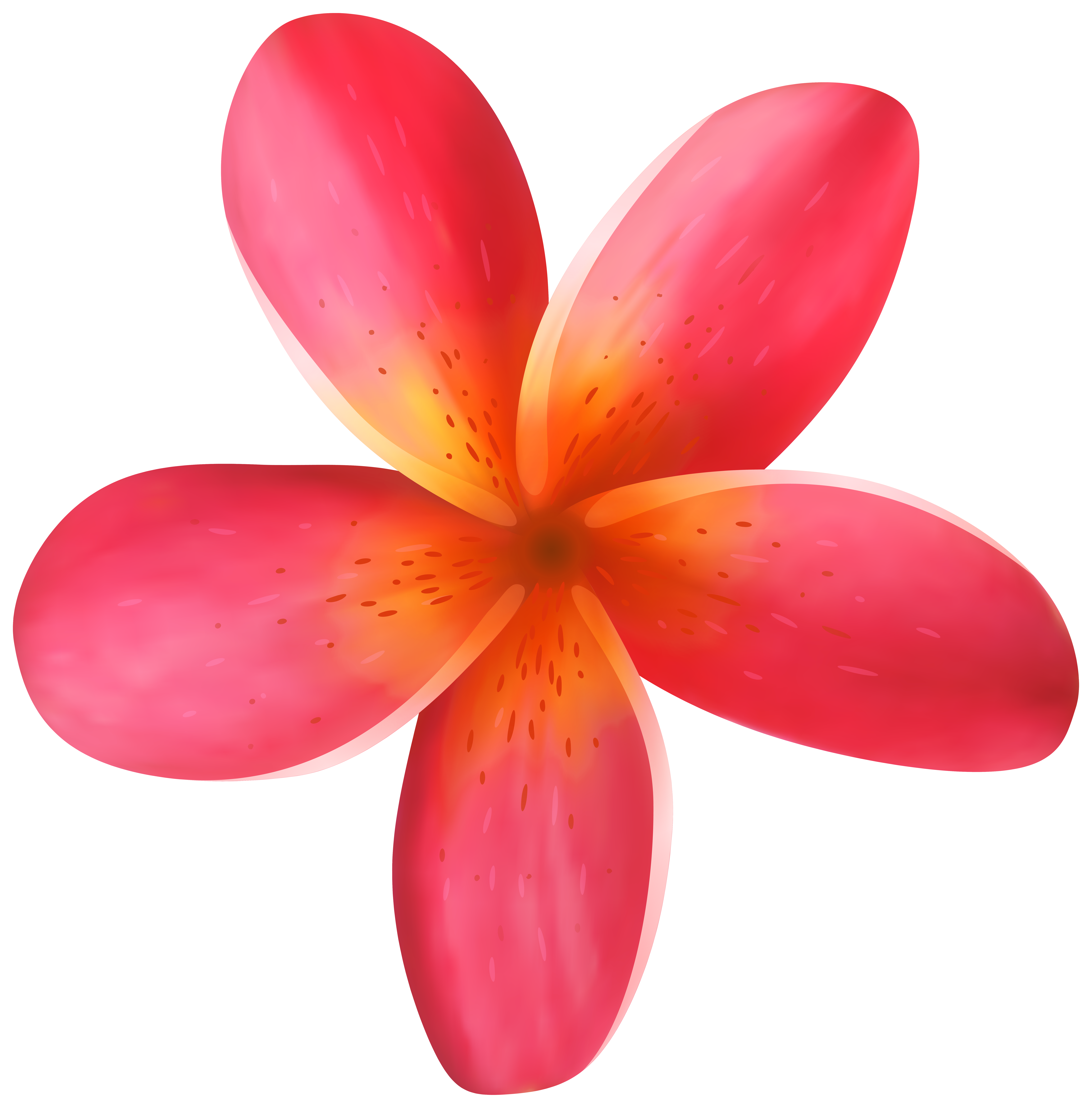 Blue tropical flower png. Clip art image gallery