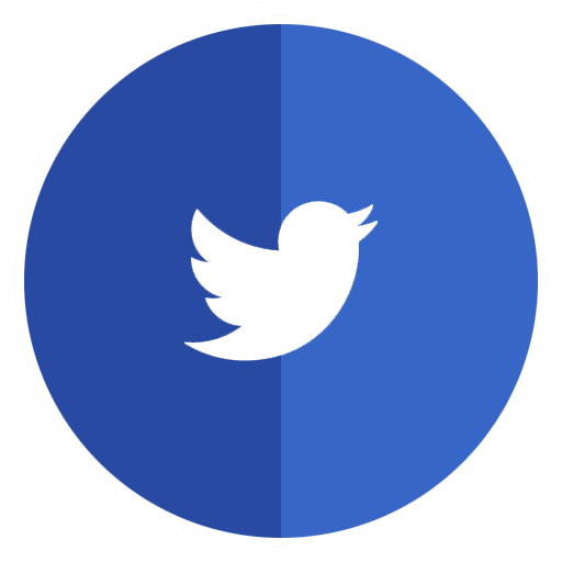 Blue twitter logo png. Collection of icons free