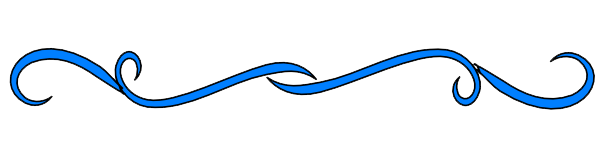 Blue line png. Decorative transparent images download