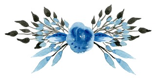 Blue watercolor flower png. Pin by lady basil
