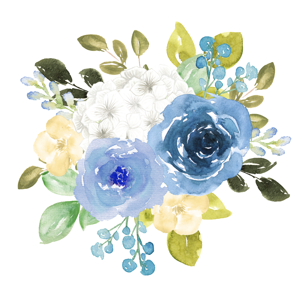 Images of flowers kayaflower. Blue watercolor flower png image royalty free library