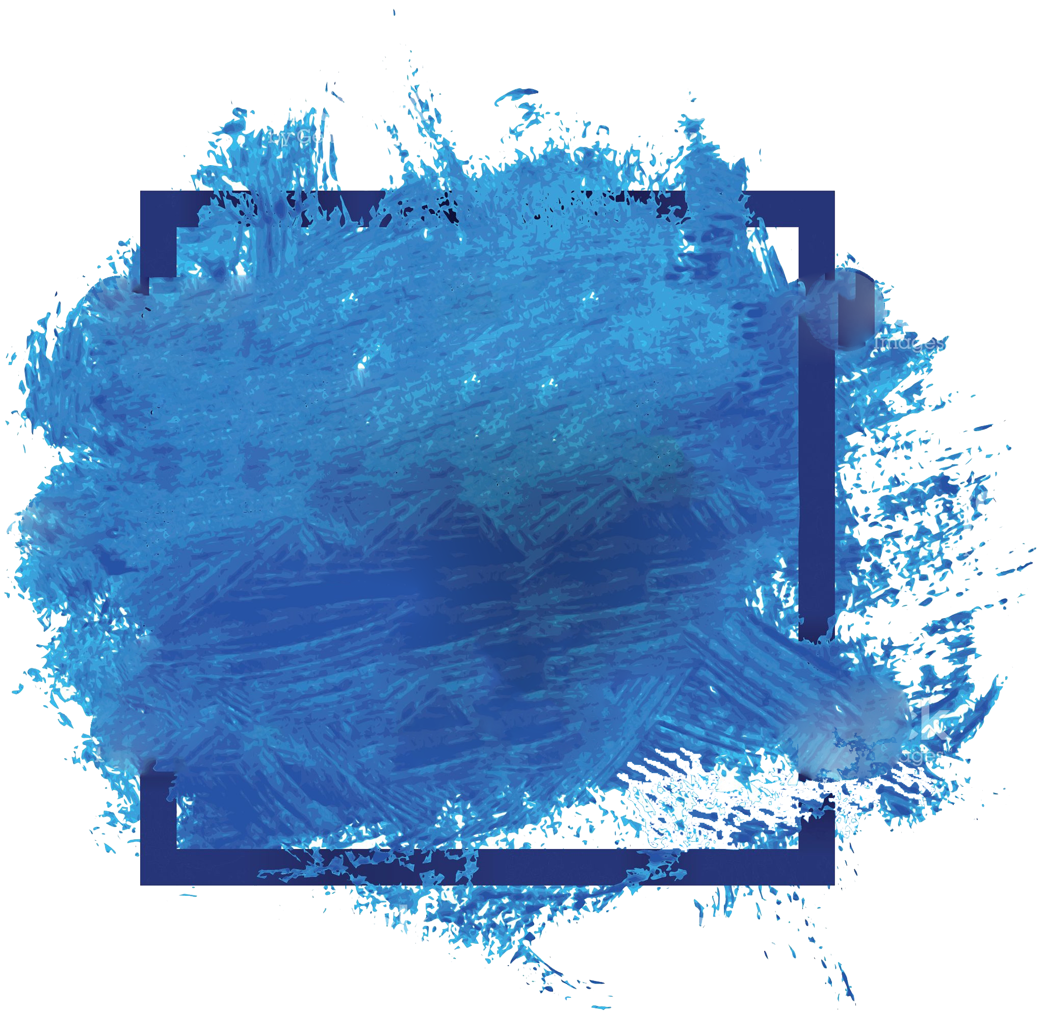 Blue watercolor png. Banner peoplepng com