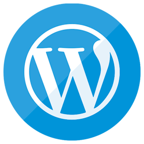 Blue website icon png. Image