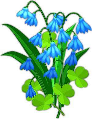 Bluebell. Free blue bell cliparts