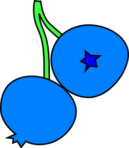 Blueberry clipart. Blueberries clip art at