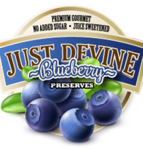 Blueberry clipart huckleberry. Products just devine fruit