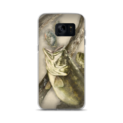 Snook drawing easy. Bass bluegill iphone case
