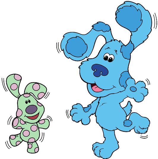 Blues clip roary. Blue s clues art