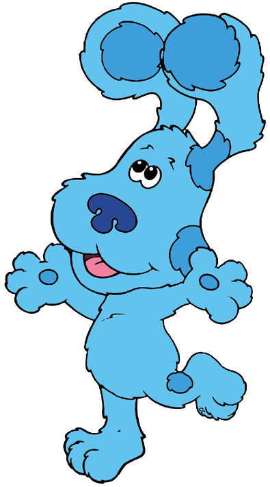 Blues clip. Blue s clues art