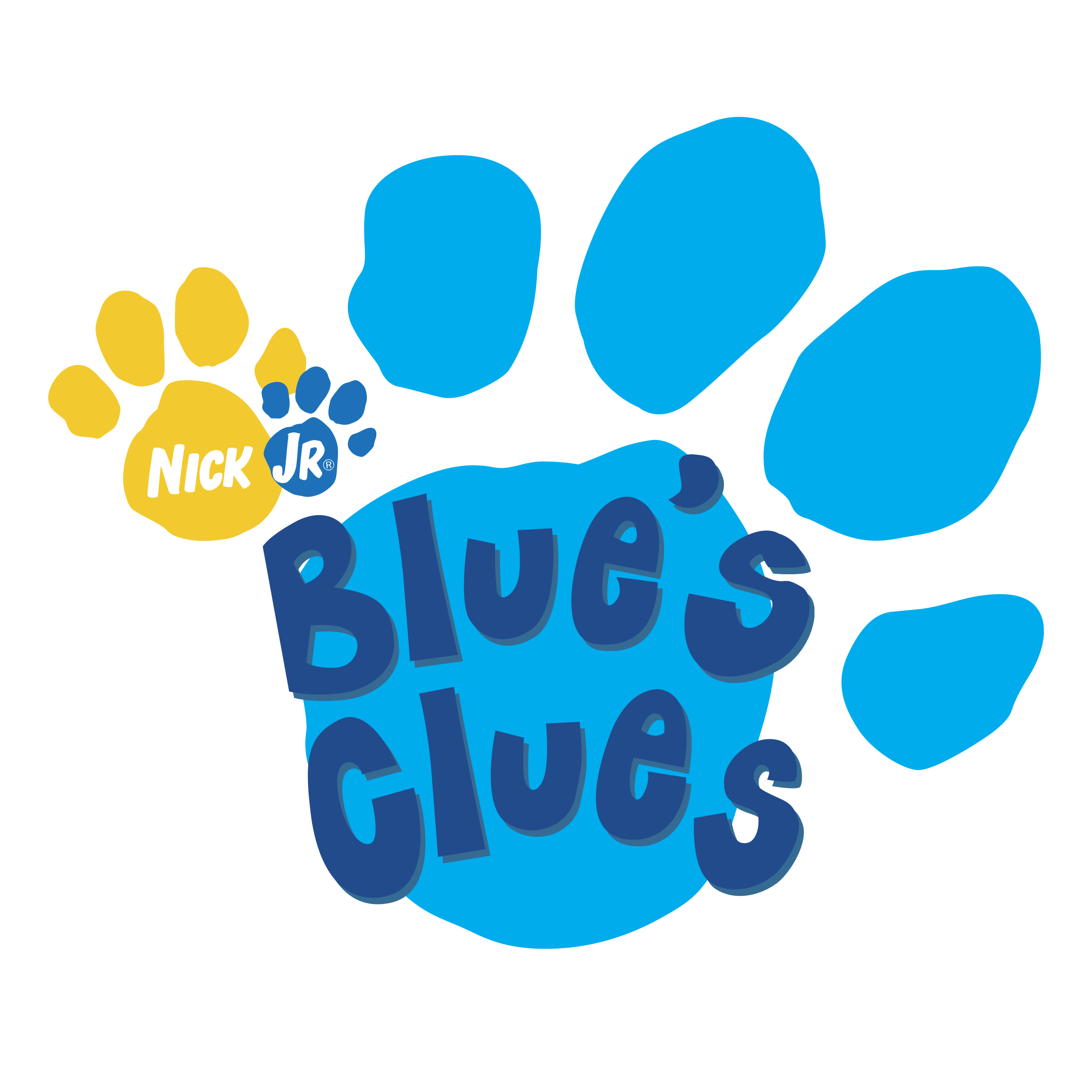 Blues clip svg. Blue s clues logo