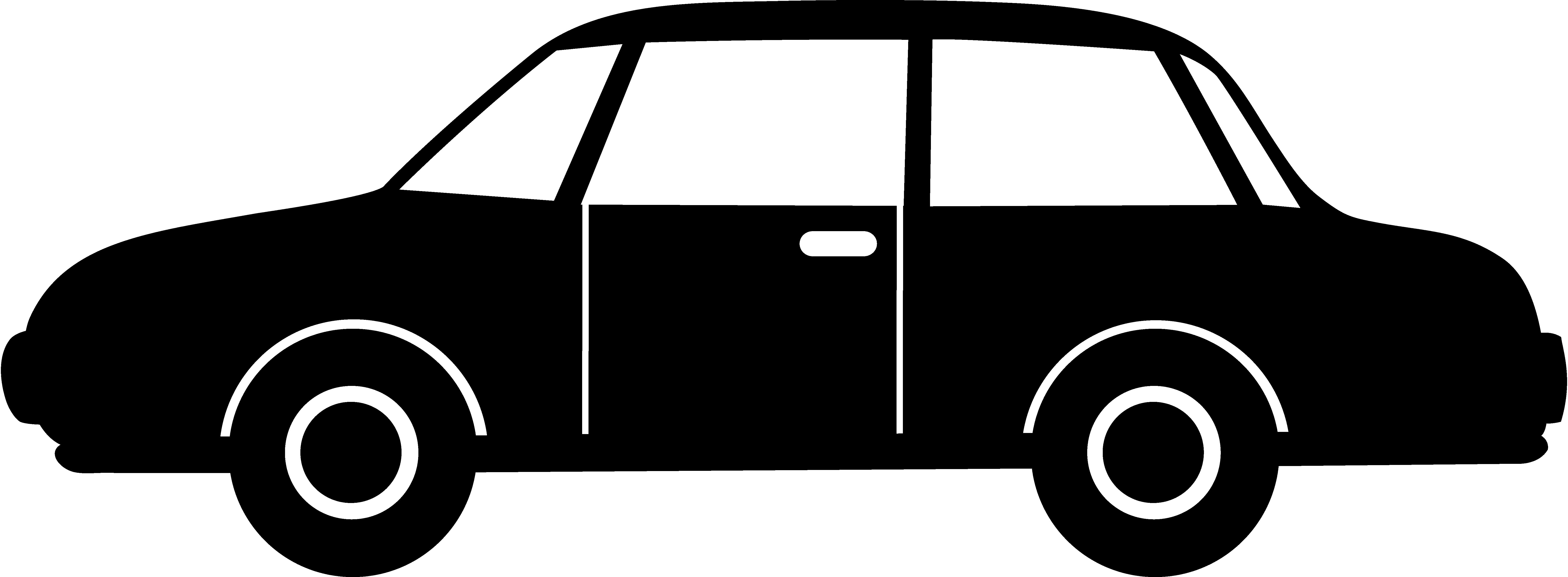 Car silhouette transparent png. Cars clip body vector free library