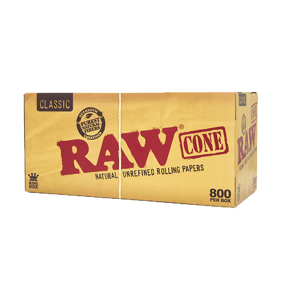 Transparent cone raw papers