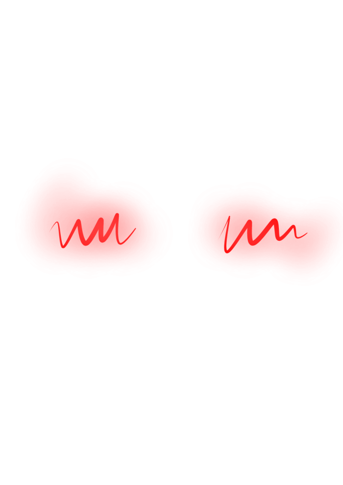 Blush anime png. Overlay red sticker by
